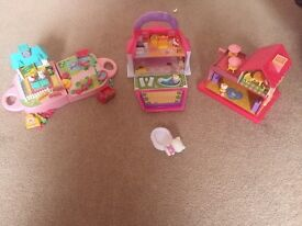 Hello Kitty mini playsets
