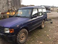 Landrover Discovery 300tdi 3dr off-road or spares repairs