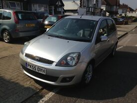 Ford Fiesta 5 seater car, leather seats