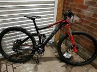 Cube sting mountain bike 2015/16 mint condition