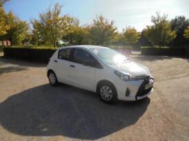 Toyota Yaris VVT-I Active 5dr (white) 2014