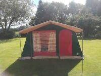 Raclet 6 berth Canvas tent