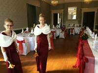Phase eight bridesmaid oxblood dresses size 10 and 8
