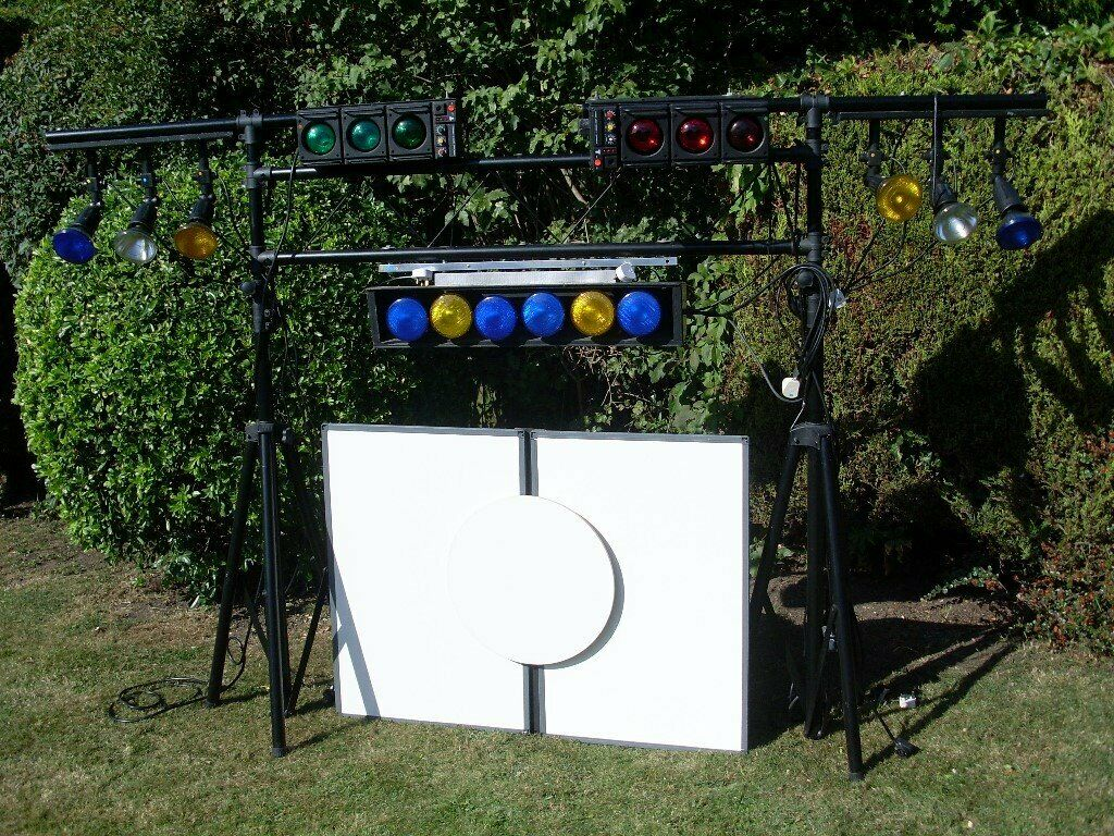 Disco Stage Lighting Gantry Set And Components In Wood Norfolk Gumtree