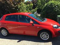 Red 1.2 Fiat Punto EVO 2011 Plate with low mileage, MOT completed Aug -16