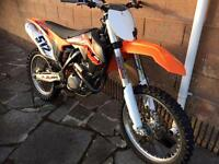 KTM 350sxf 2014 for sale low hours.
