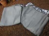 Silver Thermal Motorhome Windscreen Cover
