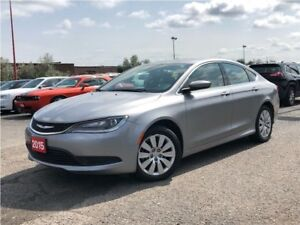 2015 Chrysler 200 LX**5.0 TOUCHSCREEN**BLUETOOTH**AUTOMATIC**