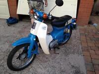 Honda c70c only 5850 miles - 3 month mot