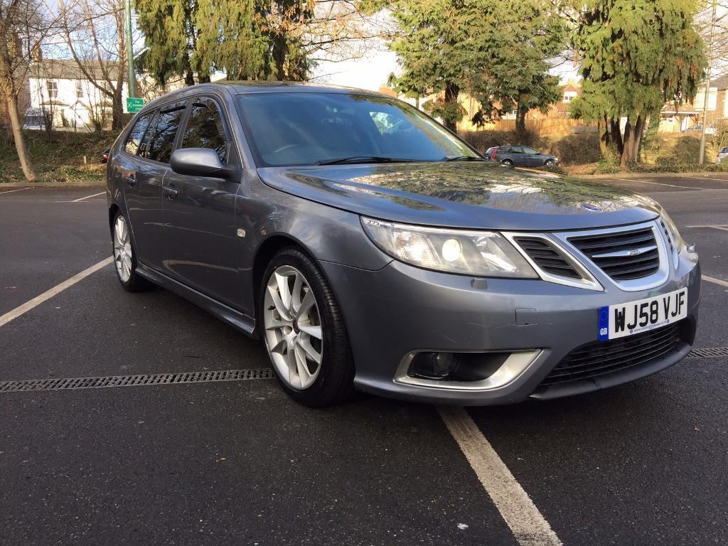 2008 saab 9 3 aero ttid auto grey twin turbo mint. Black Bedroom Furniture Sets. Home Design Ideas