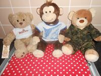 X4 BUILD-A-BEAR/X3 DISNEY STORE PLUSH TOYS - £4 EACH