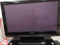 Panasonic 42 inch plasma tv with free sat tuner