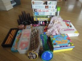 1 box of miscellaneous children things