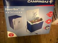 Campingaz Powerbox 36L BRAND NEW IN BOX with TRANSFORMER