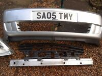 2005 meriva parts. Front bumper. Front wings. Front suspension including drive shafts. Steering rack