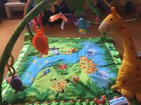 Fisher Price BabyGym Jungle theme
