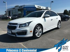 2016 Chevrolet Cruze LT 2LT| FWD| Sunroof| Accident Free