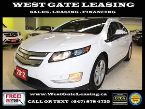 2012 Chevrolet Volt Electric   REAR VIEW CAMERA  