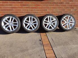 LEXUS CT Alloy wheels & winter tyres x 4