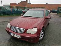 MERCEDES BENZ C180 2.0ltr_4dr (AUTOMATIC) *** LONG MOT - HPI CLEAR - FREE DELIVERY ***