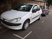 £375 Cheap Peugeot 206 Diesel 1.4l quick sale needed
