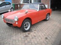 MG MIDGET NEW MOT