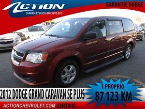2012 Dodge GRAND CARAVAN SE PLUS, V6,AUTO,AIR