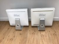 iMac G5 A1173 imac G5 A1144 for parts sold as seen price is for both