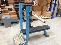 Olympic bench with Olympic 5 ft bar