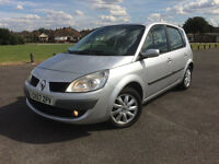 RENAULT SCENIC 1.6 DYNAMIQUE 2008 IN VGC 6 SPEED