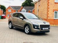 2012 PEUGEOT 3008 1.6 HDI 12 MONTH MOT, FULL SERVICE HISTORY, MILEAGE 45K ONLY FULL HPI CLEAR