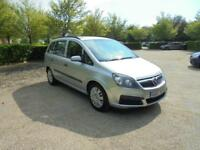 Vauxhall Zafira Life CDTi (silver) 2007