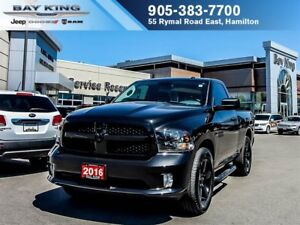 2016 Ram 1500 ST, BLUETOOTH, SPRAY IN BEDLINER, REMOTE KEYLESS E