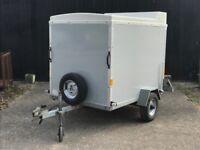 Blueline 750kg Box Trailer 6' x 4' x 5' with Roller Shutter Door