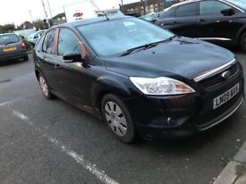 Black Ford Focus 1.6 TDCI Diesel Econetic. 5 Door Not Fiesta Vauxhall Corsa Astra Polo Golf