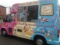 ICE CREAM VAN FOR SALE - FORD TRANSIT 150 DIESEL W/2000