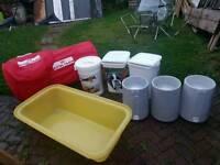 Dog bowls /bath/food tubs