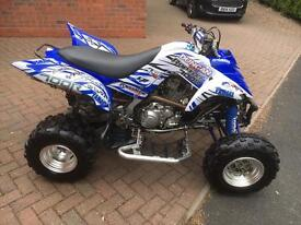 Yamaha raptor 700 road legal twin pipe