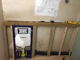 Professional plumber looking for temporary or permanent works