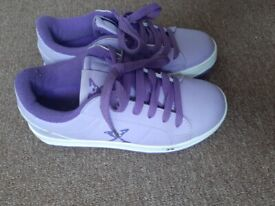 Heelys.size 3 . Lilac colour.used few times only. Good condition.
