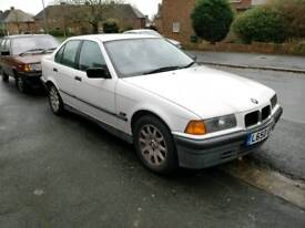 1993 BMW 316i, saloon, manual, spares or repair, e36