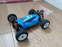 LC Racing EMB-1 Brushless Rc Car. Competition Race Buggy. Boxed.