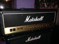 Marshall JCM 2000 DSL (Dual Super Lead) 100 watt valve head - reverb, 2 channels