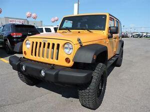 2012 Jeep WRANGLER UNLIMITED LIFT ROUGH COUNTRY 3.25, PNEUS DE 3