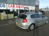 2007 07 BMW 1 SERIES 1.6 116I ES 5D 114 BHP **** GUARANTEED FINANCE **** PART EX WELCOME
