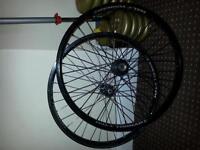 """Halo Tornado 24"""" jump bike DH/FR wheels"""