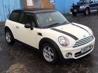 (57) Mini Cooper 1.6 Diesel , mot - December 2018 ,1 owner from new, 1 series ,A1 ,golf,astra,focus
