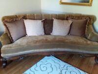 Gorgeous American Sofa & Arm Chair