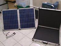 Selecta 90w Folding Solar Panel Kit with Alloy Case