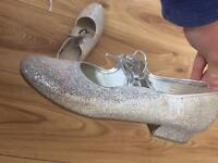 Sparkly tap shoes made by Roch valley